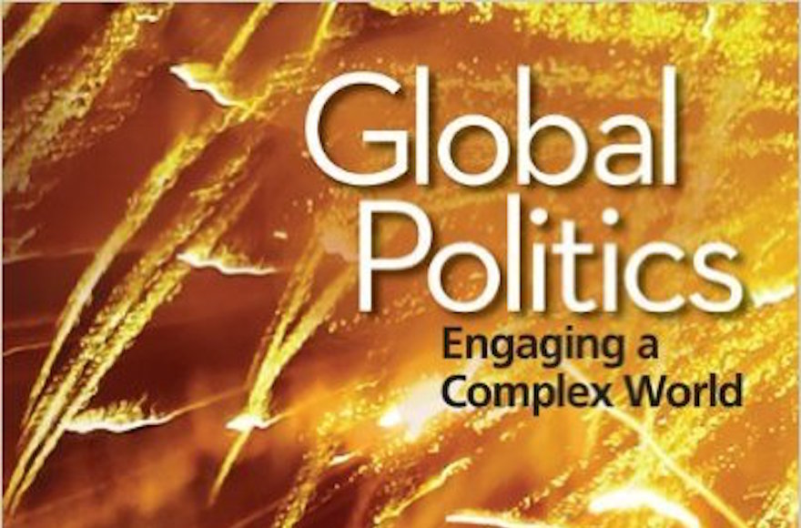 "The cover of ""Global Politics: Engaging a Complex World."" (Screenshot from Amazon)"