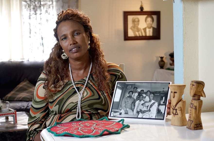 Nane Negate's father struggled with depression and killed himself shortly after arriving in Israel from Ethiopia in the 1980s. (Orli Malassa)