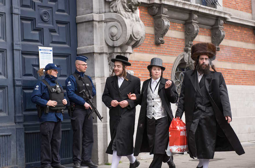 Amid reports of repeated security failures, many Belgian Jews feel their government is leaving them vulnerable. (Cnaan Liphshiz)