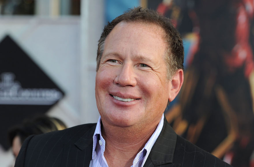 "Garry Shandling arriving at the world premiere of Paramount Pictures & Marvel Entertainment's ""Iron Man 2"" held at the El Capitan Theatre in Hollywood, California, April 26, 2010. (Frazer Harrison/Getty Images)"