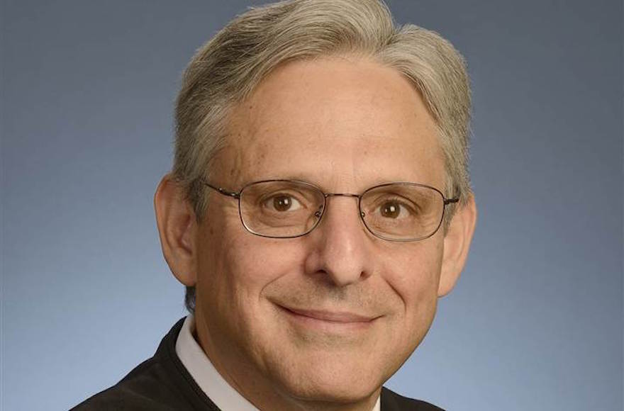 Merrick Garland, chief judge of the United States Court of Appeals for the District of Columbia Circuit (Wikimedia Commons)
