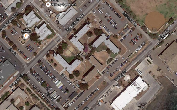 The Swastika-Shaped California Naval Base That Doesn't Seem To Be Going Away