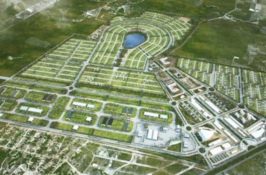 A rendering of planned smart city Croatá Laguna Ecopark. (Courtesy of Croatá Laguna Ecopark)