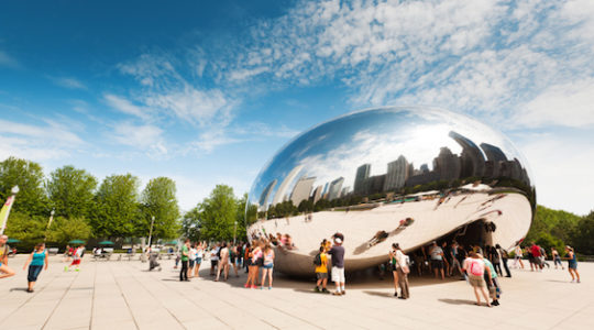"Chicago's ""Bean"" Artist's Unusual Response to Anti-Semitic Graffiti"