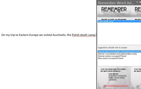 "Auschwitz Sets the Record Straight With This New ""Polish Death Camp"" Plug-In"