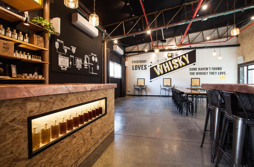 Milk & Honey, a whiskey distillery in Jaffa, recently opened visitor's center, which offers tours, tastings and private events. (Courtesy of Milk & Honey)