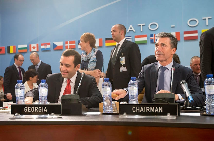 NATO Defence Ministers Meet In Brussels
