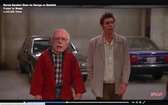 Bernie Finally Joins the Cast of Seinfeld