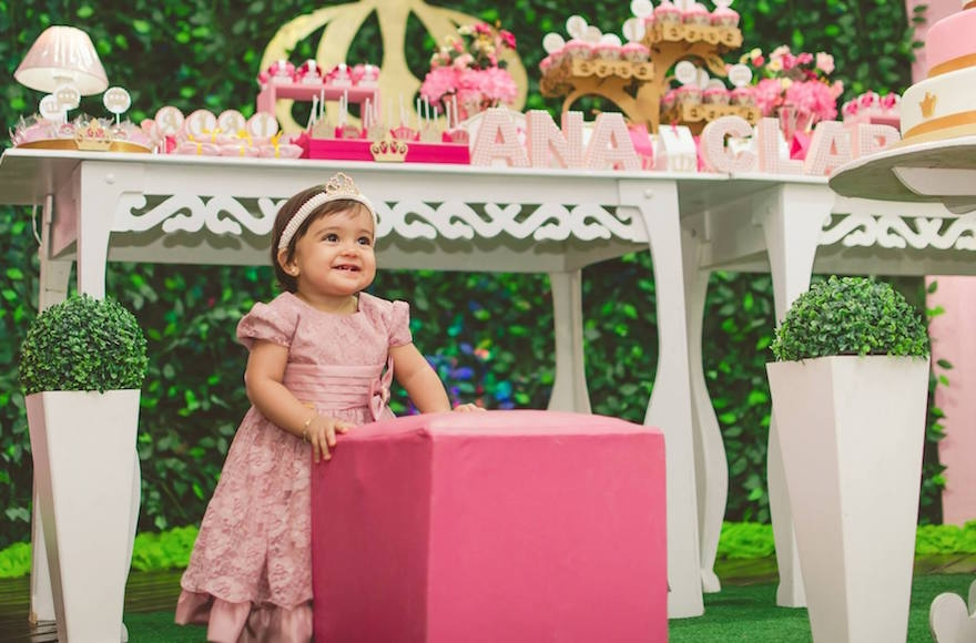 Lavish theme parties, even for toddlers, are the norm at Brazilian