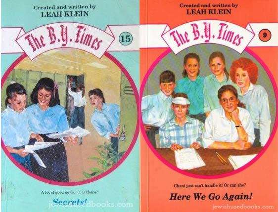 The 1990s' Baby-Sitters Club Books for Orthodox Girls