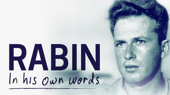 Being Dead Hasn't Stopped Rabin From Narrating His New Biopic