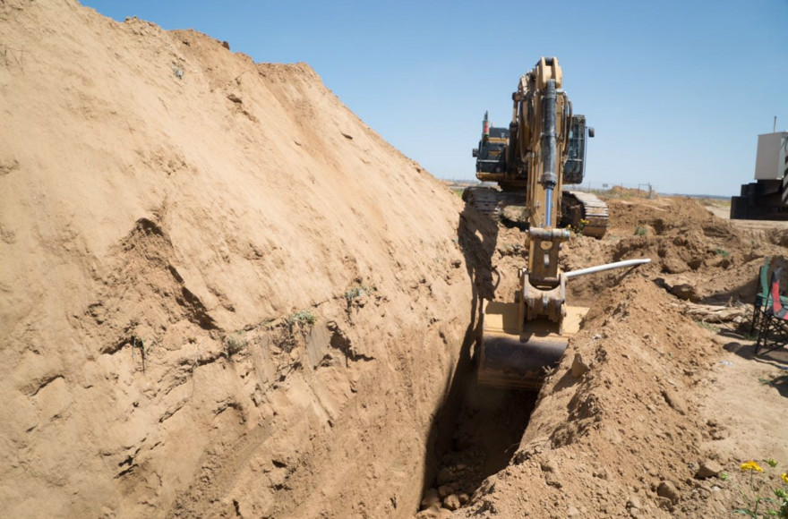 The Israel Defense Forces uncovers a terror tunnel running from the southern Gaza Strip to Israel on May 5, 2016. (Photo courtesy of the Israel Defense Forces)