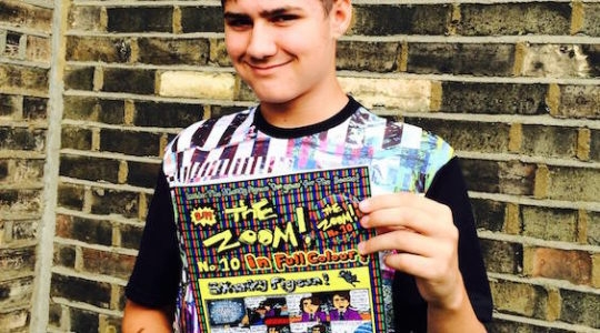 Meet London's Jewish Teenager Comic Genius, Scribbling Since Age 8