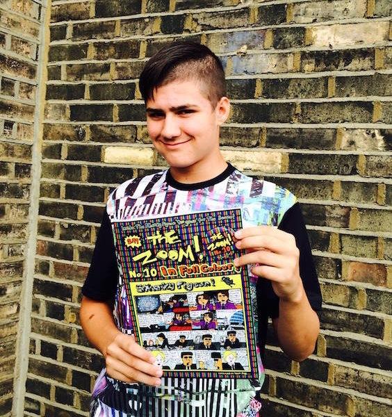 Meet London's Jewish Teenager Comic Genius, Scribbling Since Age 8