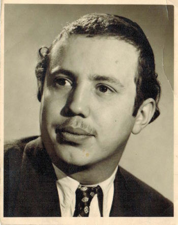 Hershel Herskovic in 1950 (Courtesy of Dovi Hershkovic)