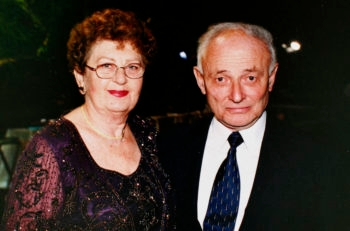 Liviu Librescu and his wife, Marlena Librescu, in an undated photograph (Librescu family via Getty Images)