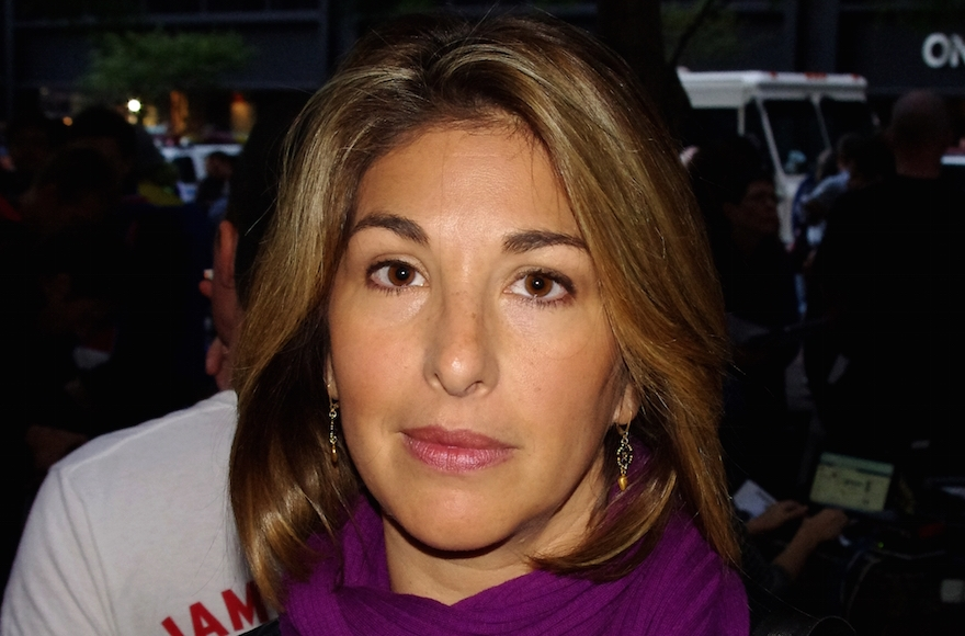 Naomi Klein at Occupy Wall Street in 2011. (Wikimedia Commons)