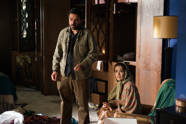 "Selma Hayak-Pinault, right, stars as Farnez Amin in ""Septembers of Shiraz."" (Courtesy of Momentum Pictures)"