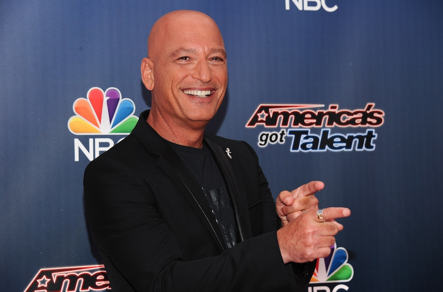 "Howie Mandel attending the ""America's Got Talent"" Season 9 red carpet event at Radio City Music Hall in New York City, July 29, 2014. (Rommel Demano/Getty Images)"
