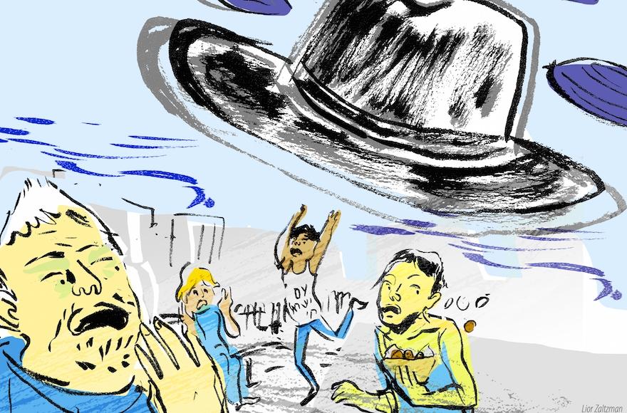 Headlines could convince a stranger that Israel is like a Hebrew-speaking version of Iran, Shuki Friedman writes. (Lior Zaltzman)