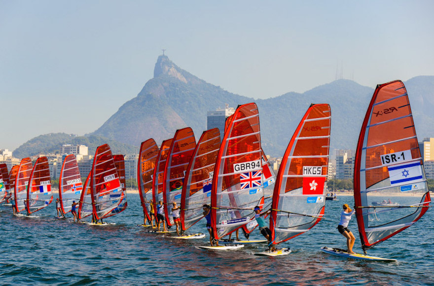 Rio 2016's first test-event, an international sailing regatta that gathered 326 athletes from 35 countries, Aug. 3, 2014. (Alex Ferro)