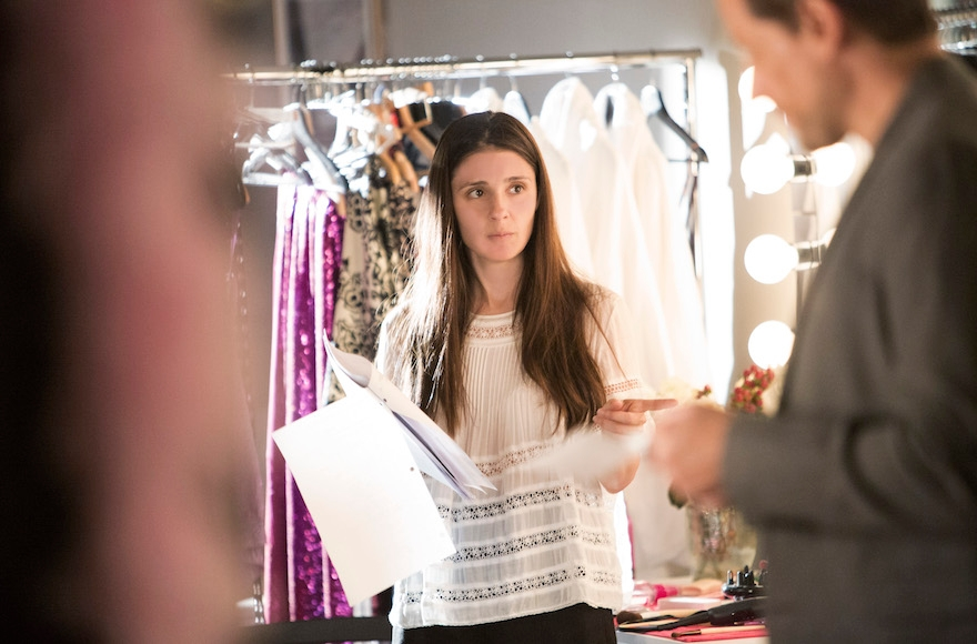 "Shiri Appleby directing on the set of Season 2 of Lifetime's ""UnREAL"" airing Monday, July 11th at 10pm ET/PT. (Bettina Strauss)"