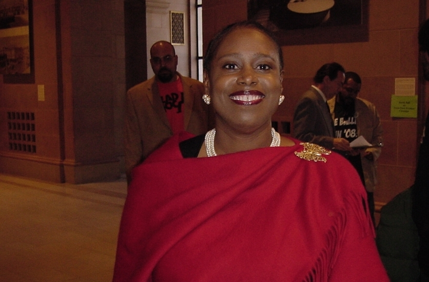 a review of the political life of cynthia mckinney a black representative in georgia