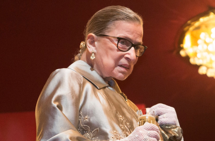 Supreme Court Justice Ruth Bader Ginsburg at The Kennedy Center Honors in Washington, D.C., Dec. 6, 2015. (Chris Kleponis/AFP/Getty Images)