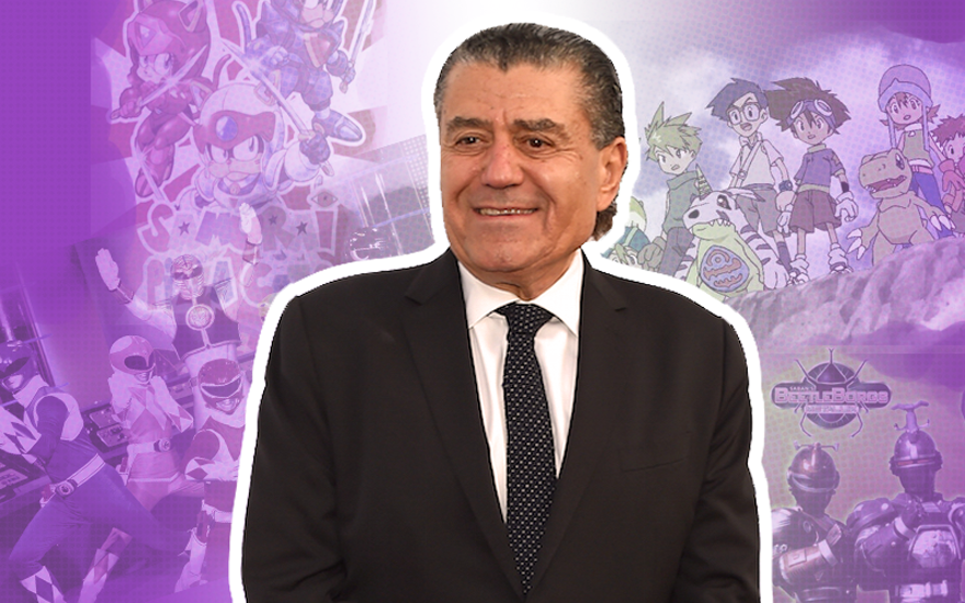 Haim Saban at the UCLA Younes & Soraya Nazarian Center For Israel Studies 5th Annual Gala in Beverly Hills, California, May 5, 2015 . (Jason Merritt/Getty Images)