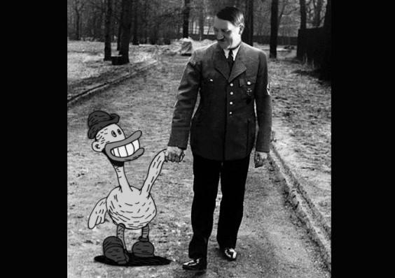 A New Really Tacky Half-Animated Hitler Mockumentary!