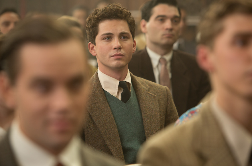 "Logan Lerman stars in ""Indignation,"" a film adaptation of the Philip Roth novel. (Alison Cohen Rosa)"