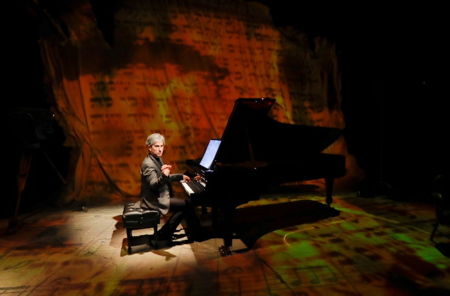 Hershey Felder sings, acts and plays the piano in the play. (Courtesy of Hershey Felder Presents)