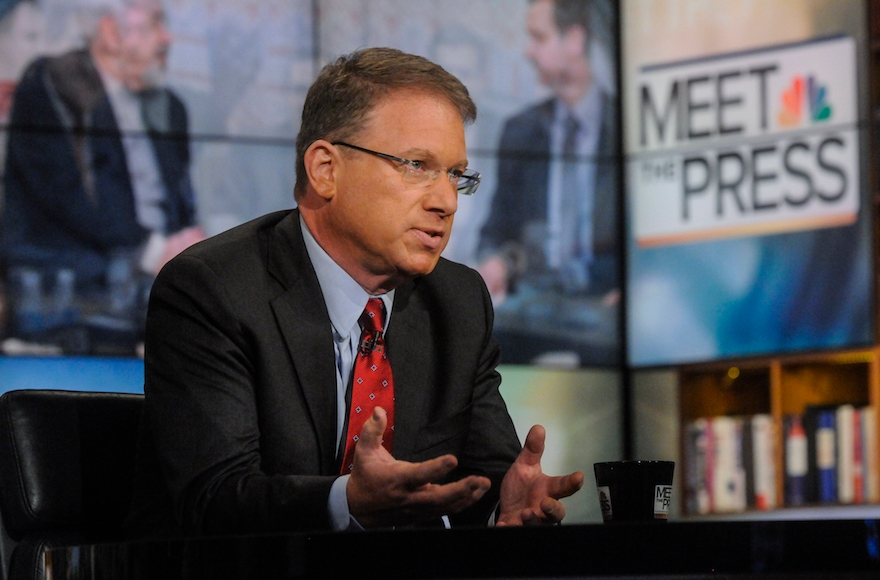 "Jeffrey Goldberg on ""Meet the Press"" in Washington, D.C., July 13, 2014. (William B. Plowman/NBC/NBC NewsWire via Getty Images)"