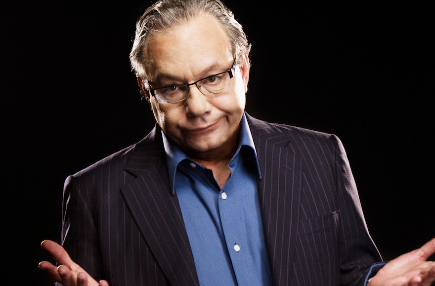 The famously agitated Jewish comedian Lewis Black is returning to Broadway. (Clay McBride)