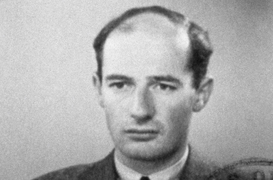 A passport photograph of Swedish architect, businessman and diplomat Raoul Wallenberg taken in Budapest, Hungary, June 1944. (Laski Diffusion/East News/Getty Images)