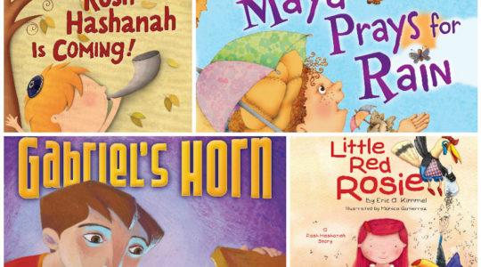 Rosh Hashanah kids books