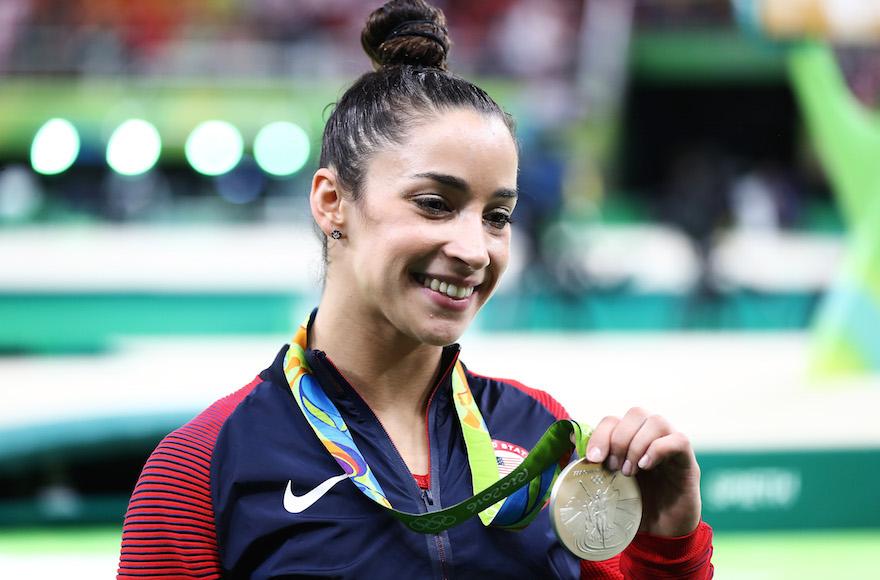Aly Raisman Wins Silver Medal In Olympic Gymnastics All