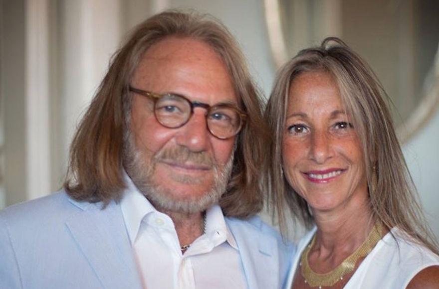 Harold Bornstein, left, and his wife, Melissa. (Facebook)