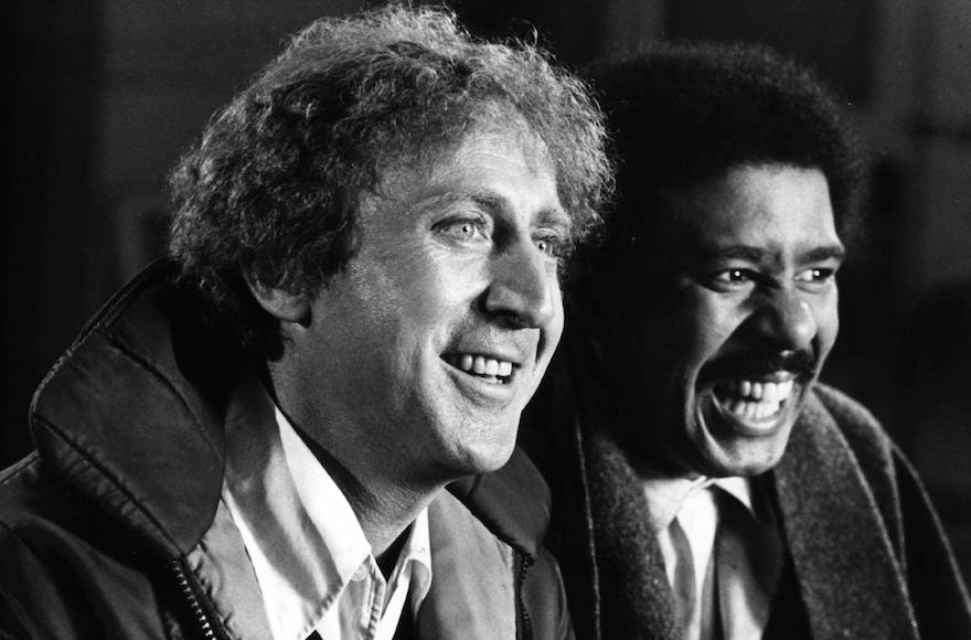 Gene Wilder, left, shown with Richard Pryor, got a lot of love from celebrities on Twitter. (Hulton Archive/Getty Images)