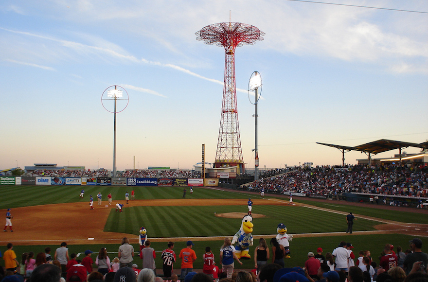 A view of MCU Park, formerly known as Keyspan Park, in Coney Island, Brooklyn. (Wikimedia Commons)