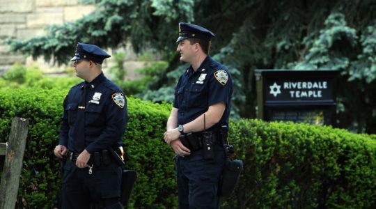 Riverdale Temple guards