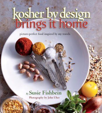 "The cover of Fishbein's latest (and final) ""Kosher By Design"" cookbook. (Courtesy of Artscroll)"