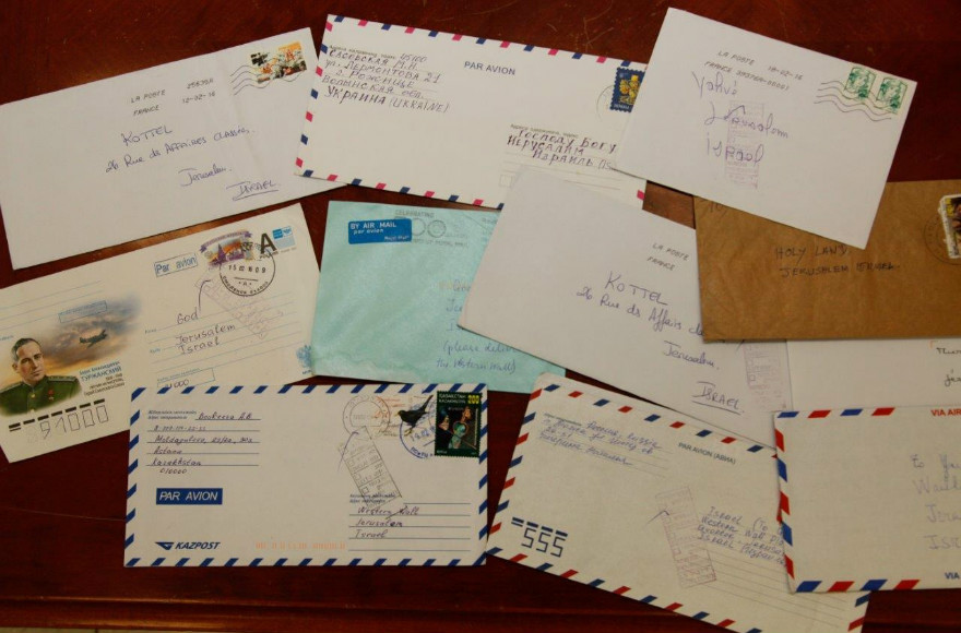 Holidays Around The World  Letters