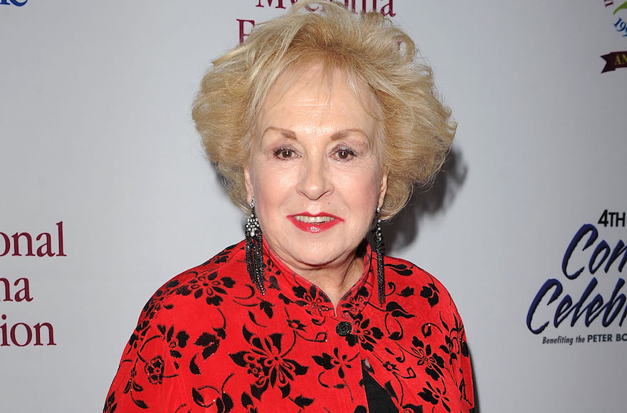 Doris Roberts at the 4th Annual Comedy Celebration Benefiting the Peter Boyle Fund in Beverly Hills, California, Nov. 13, 2010.
