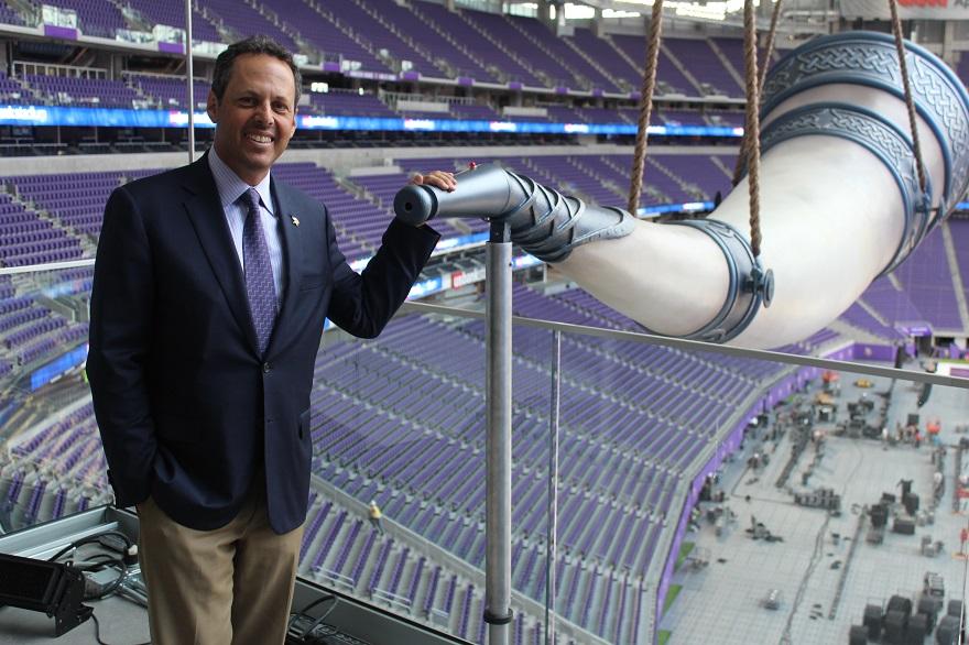 aa612e5eac5e36 Minnesota Vikings owner thinks big with new stadium and Holocaust  philanthropy