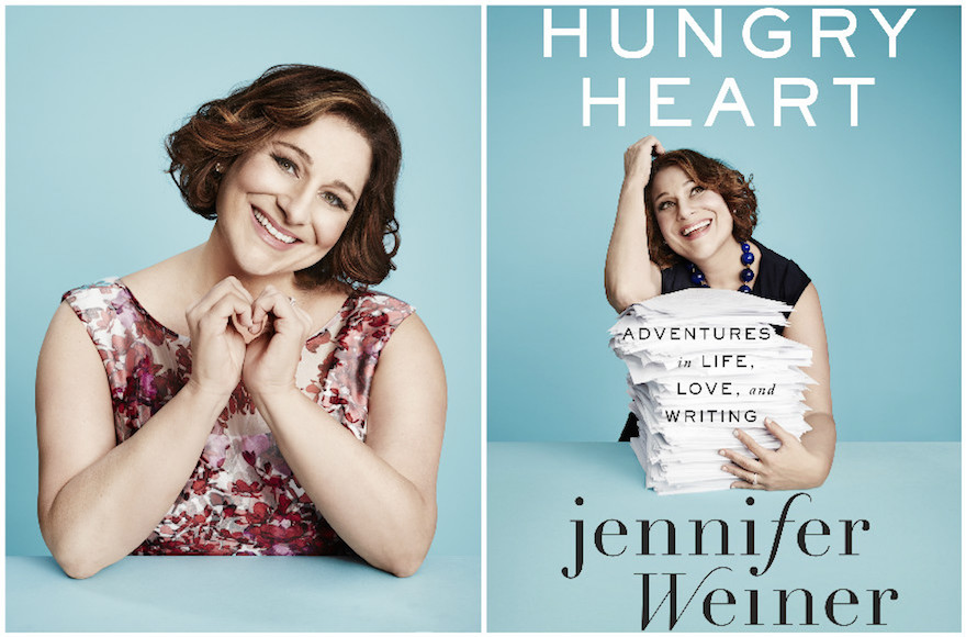 """Hungry Heart: Adventures in Life, Love and Writing"" by Jennifer Weiner (Maarten de Boer/Simon and Schuster)"