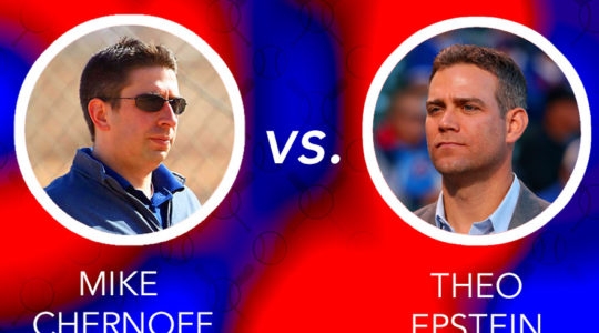 Theo Epstein and Mike Chernoff