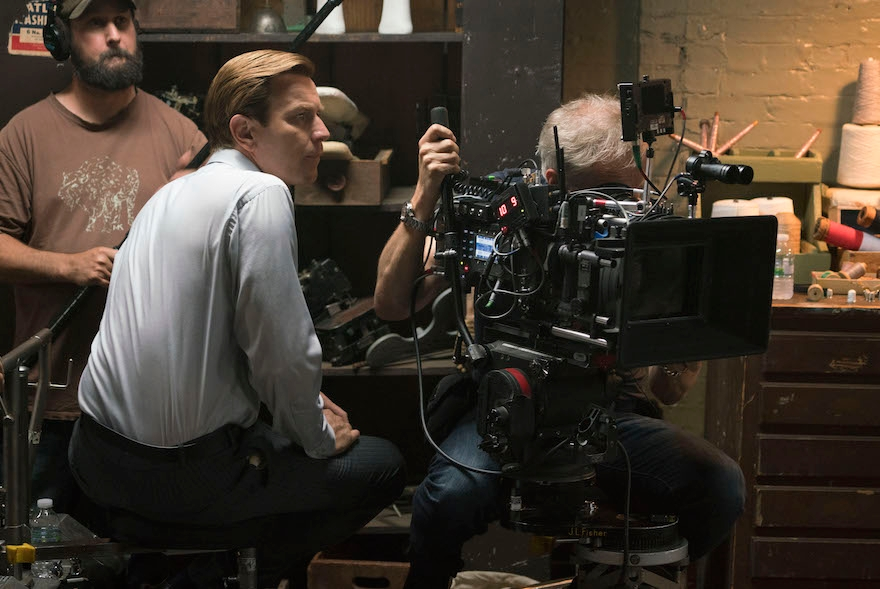 "Director Ewan McGregor on the set of ""American Pastoral."" (Richard Foreman)"