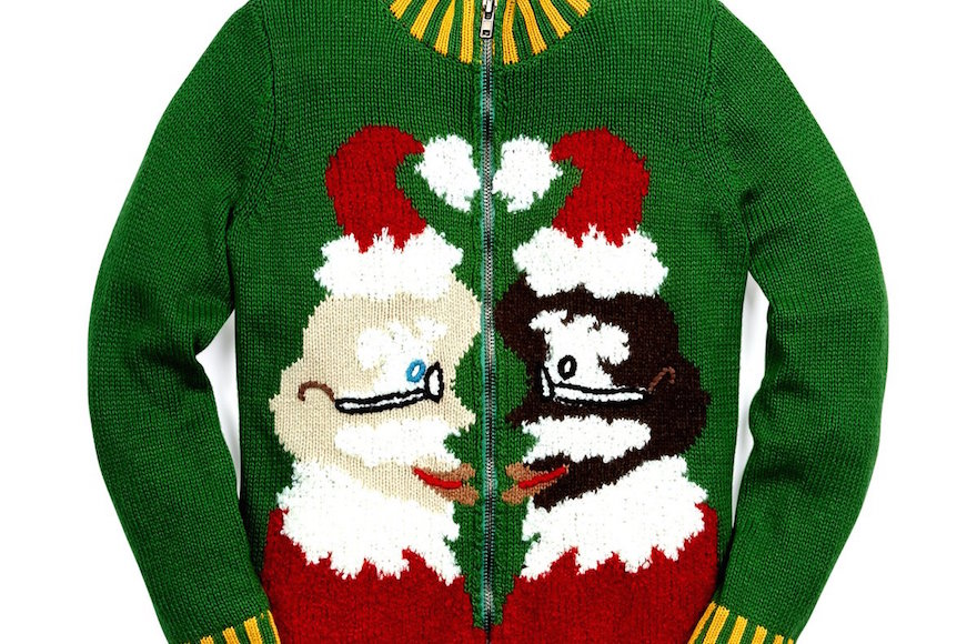 Whoopi Goldberg designed a collection of holiday-themed sweaters for Lord & Taylor. (Twitter)