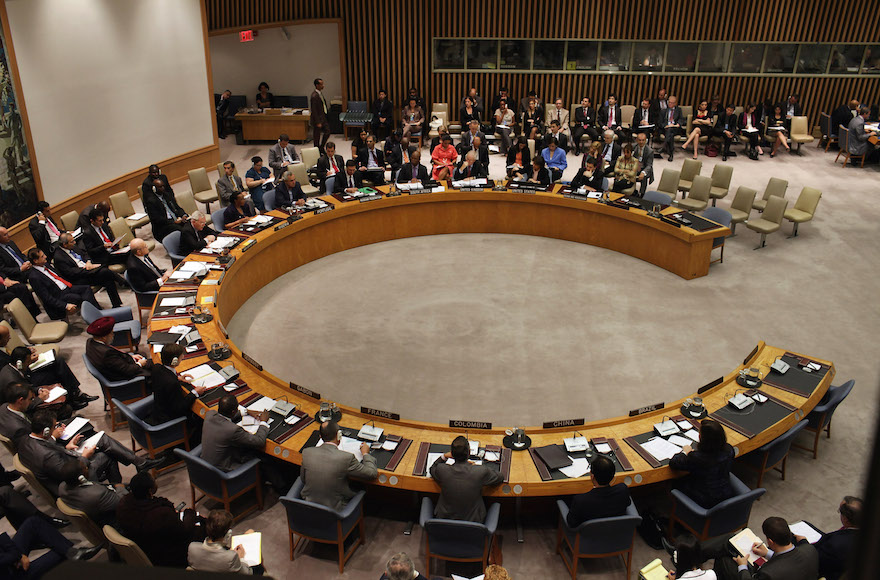 Members of the United Nations Security Council in New York City, Sept. 27, 2011. (Spencer Platt/Getty Images)